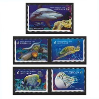 Australia 2018 Reef Safari Set of 5 Stamps MUH SG4939/43