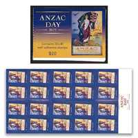 Australia 2019 ANZAC Day Booklet of 20 Stamps Self-adhesive MUH