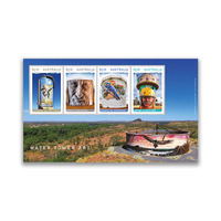 Australia 2020 Water Tower Art Mini Sheet of 4 Stamps MUH