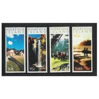 Norfolk Island 2004 Photographic Scenes of Norfolk Island Set of 4 Stamps MUH SG859/62
