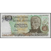 Argentina, Single banknote in Unc grade (1983-85)