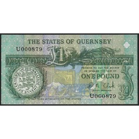Guernsey, Single banknote in Unc grade (1991-)
