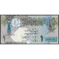 Qatar, Single banknote in Unc grade (nd 2003)