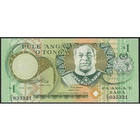 Tonga, Single banknote in Unc grade (1995)