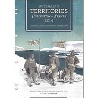 2014 Australian Territories Collection of Stamps Including Antarctic Christmas Island Cocos Islands