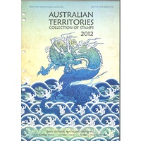 2012 Australian Territories Collection of Stamps Including Antarctic Christmas Island Cocos Islands