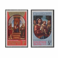 Christmas Island 1970 Stamps Christmas Set of 2