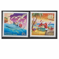 Christmas Island Stamps 2003 Christmas Set of 2