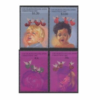 Cocos (Keeling) Islands Stamps 1991 Christmas set of 4
