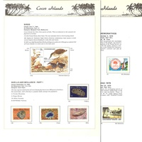 Cocos (Keeling) Islands Stamps 1963 to 2014 Complete Collection Excluding 1991 Set of 7 SG234/239 & O1 and 1990 Single Stamp SG230
