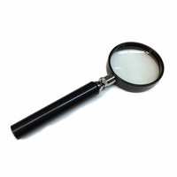 Lighthouse Magnifier Glass With Handle, 4x Magnification 50mm