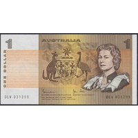 Australian One Dollar $1 Paper Note Johnston/Stone 1983 R78 Uncirculated