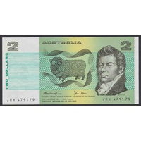 Australian Two Dollar $2 Paper Note Knight/Stone R87 1979 EF