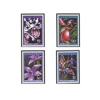1986 (213) Australian Native Orchids Set of 4 MUH