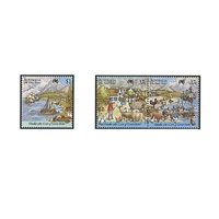 1987 (232) First Fleet Cape of Good Hope Set of 3