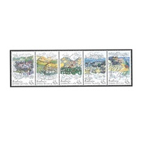 1992 (307) Landcare Strip of 5 MUH