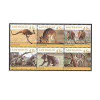 1994 (335) Australian Wildlife Set of 6 MUH