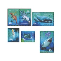 1998 (417) Planet Ocean Set of 6 MUH
