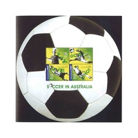 2006 (590) Soccer in Australia Mini Sheet MUH