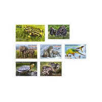 2016 (955) Endangered Wildlife Set of 7 MUH