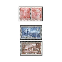 1951 (SG241a/44) Golden Jubilee of Commonwealth of Australia Set of 4