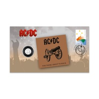 Australia 2021 AC/DC For Those About to Rock (We Salute You) Stamp & 20c Coin Cover - PNC