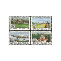 1983 (SG 304/7) Norfolk Isl. Manned Flight Set of 4 MUH