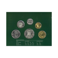 Australia 2004 Year Mint Set of 6 UNC Coins Original Designs in Folder RAM